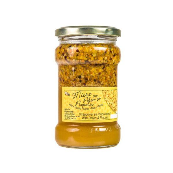 miere cu polen si propolis